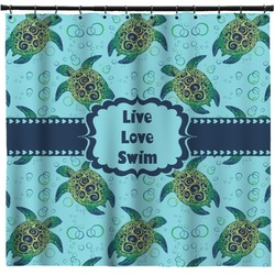 Sea Turtles Shower Curtain (Personalized)