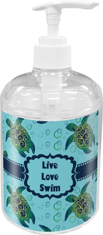 Sea Turtles Soap / Lotion Dispenser (Personalized) - YouCustomizeIt