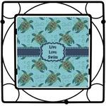 Sea Turtles Square Trivet (Personalized)