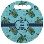 Sea Turtles Stadium Cushion (Round) (Personalized)