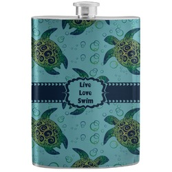 Sea Turtles Stainless Steel Flask (Personalized)