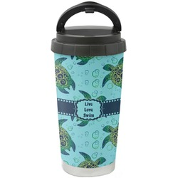 Sea Turtles Stainless Steel Travel Mug (Personalized)