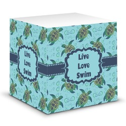 Sea Turtles Sticky Note Cube (Personalized)