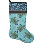 Sea Turtles Christmas Stocking - Neoprene (Personalized)