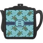 Sea Turtles Teapot Trivet (Personalized)