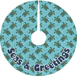 Sea Turtles Tree Skirt (Personalized)