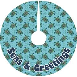 Sea Turtles Tree Skirt (Personalized)