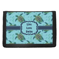 Sea Turtles Trifold Wallet (Personalized)