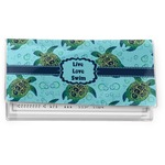 Sea Turtles Vinyl Checkbook Cover (Personalized)