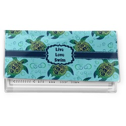 Sea Turtles Vinyl Check Book Cover (Personalized)