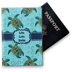 Sea Turtles Vinyl Passport Holder (Personalized)