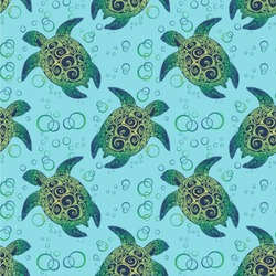 Sea Turtles Wallpaper & Surface Covering