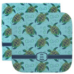 Sea Turtles Facecloth / Wash Cloth (Personalized)