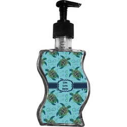 Sea Turtles Wave Bottle Soap / Lotion Dispenser (Personalized)
