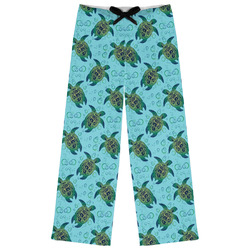 Sea Turtles Womens Pajama Pants (Personalized)