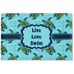 Sea Turtles Woven Mat (Personalized)