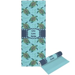 Sea Turtles Yoga Mat - Printable Front and Back (Personalized)