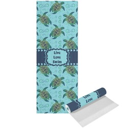 Sea Turtles Yoga Mat - Printed Front (Personalized)
