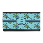 Sea Turtles Leatherette Ladies Wallet (Personalized)