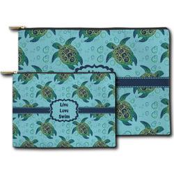 Sea Turtles Zipper Pouch (Personalized)