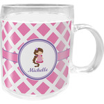Diamond Print w/Princess Acrylic Kids Mug (Personalized)