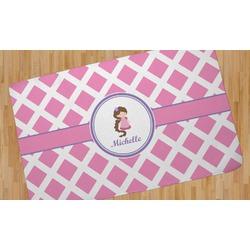 Diamond Print w/Princess Area Rug (Personalized)