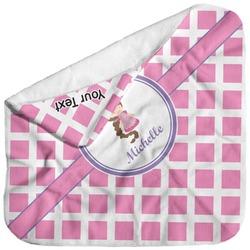 Diamond Print w/Princess Baby Hooded Towel (Personalized)