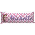 Diamond Print w/Princess Body Pillow Case (Personalized)