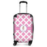 Diamond Print w/Princess Suitcase (Personalized)