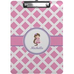 Diamond Print w/Princess Clipboard (Personalized)
