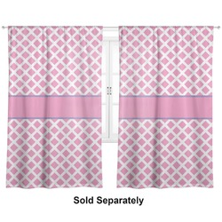 "Diamond Print w/Princess Curtains - 40""x54"" Panels - Unlined (2 Panels Per Set) (Personalized)"