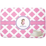 Diamond Print w/Princess Dish Drying Mat (Personalized)