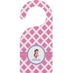 Diamond Print w/Princess Door Hanger (Personalized)
