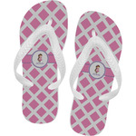 Diamond Print w/Princess Flip Flops (Personalized)
