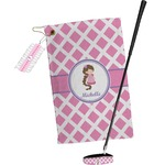 Diamond Print w/Princess Golf Towel Gift Set (Personalized)