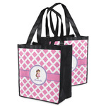 Diamond Print w/Princess Grocery Bag (Personalized)