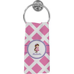 Diamond Print w/Princess Hand Towel - Full Print (Personalized)