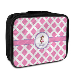Diamond Print w/Princess Insulated Lunch Bag (Personalized)