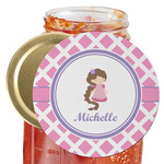 Diamond Print w/Princess Jar Opener (Personalized)