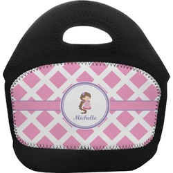Diamond Print w/Princess Toddler Lunch Tote (Personalized)