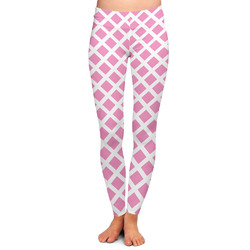 Diamond Print w/Princess Ladies Leggings - Extra Large (Personalized)