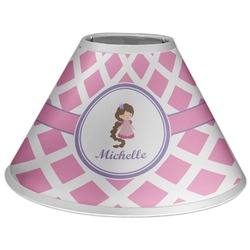 Diamond Print w/Princess Coolie Lamp Shade (Personalized)