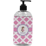Diamond Print w/Princess Plastic Soap / Lotion Dispenser (Personalized)