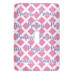 Diamond Print w/Princess Light Switch Covers - Multiple Toggle Options Available (Personalized)