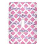 Diamond Print w/Princess Light Switch Covers (Personalized)