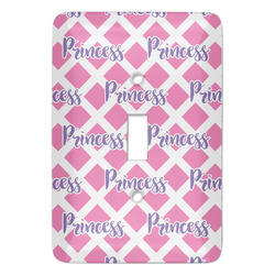 Diamond Print w/Princess Light Switch Covers (Personalized)