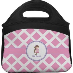 Diamond Print w/Princess Lunch Tote (Personalized)
