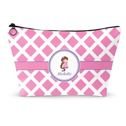 Diamond Print w/Princess Makeup Bags (Personalized)