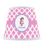 Diamond Print w/Princess Empire Lamp Shade (Personalized)