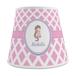 Diamond Print w/Princess Empire Lamp Shade (Personalized)